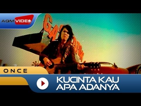 Once - Kucinta Kau Apa Adanya | Official Video video