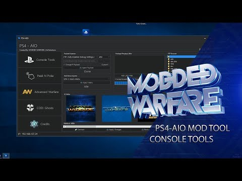 PS4-AIO Mod Tool Release + Console Tools Overview