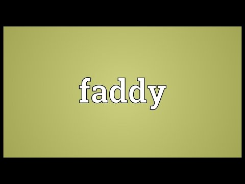 Header of faddy