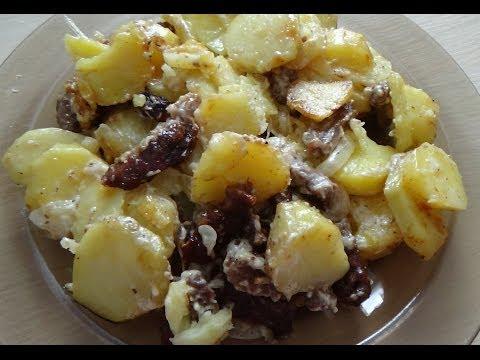 23. Мясо с картошкой в духовке. Meat and potatoes in the oven!