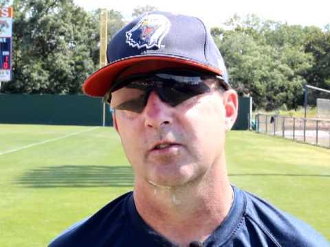 Coach Paul Wyczawski - UT Tyler Baseball (April 22, 2012)