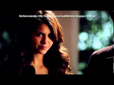 Damon y Elena/Katherine 5x14 escena con subtitulos en español