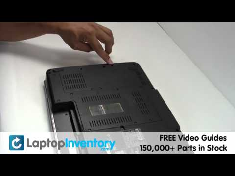 Dell Inspiron 1525 1545 Hard Drive Replacement Guide (HD) - Install Fix Replace - Laptop Notebook