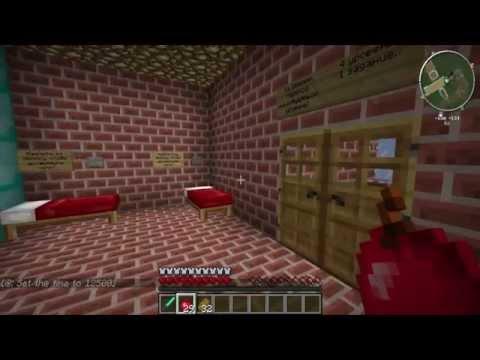 Minecraft:Прохождение карты Ботаны №1