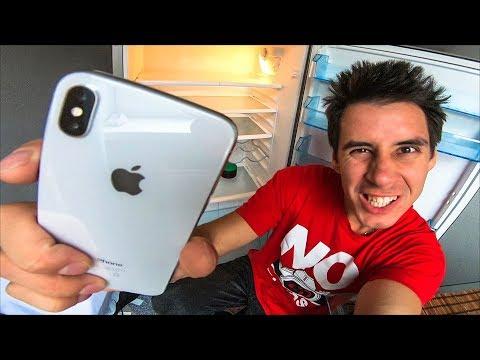 iPhone X - ЧТО БУДЕТ ЕСЛИ ЕГО ЗАМОРОЗИТЬ?