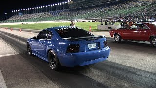 STREET CAR Racing at NASCAR TRACK - Kansas Speedway