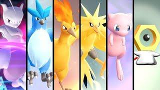 How to Get All Legendary Pokémon in Pokémon Let's Go Pikachu & Eevee