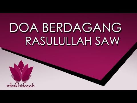 Video doa agar dagangan laris