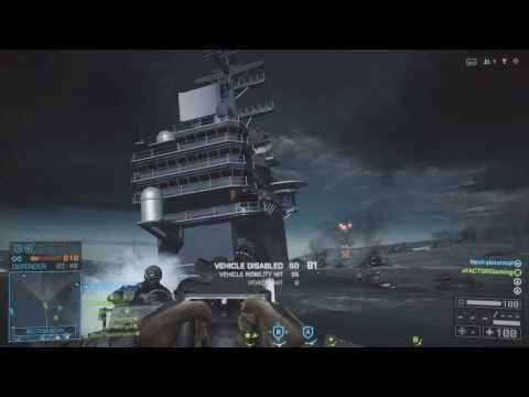 Rhib boat on the loose - Battlefield 4 Paracel storm Rush gameplay and commentary