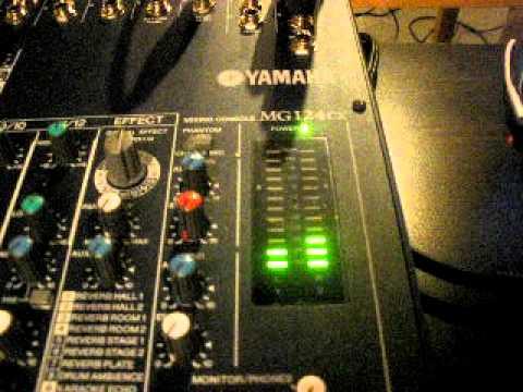 5. How to use PFL on Yamaha MG124CX mixer