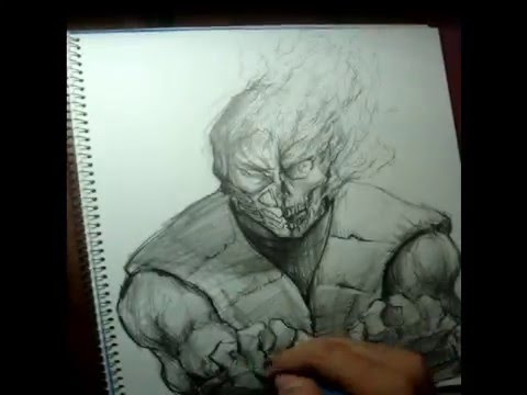 Scorpion mk Drawings Speed Drawing Scorpion