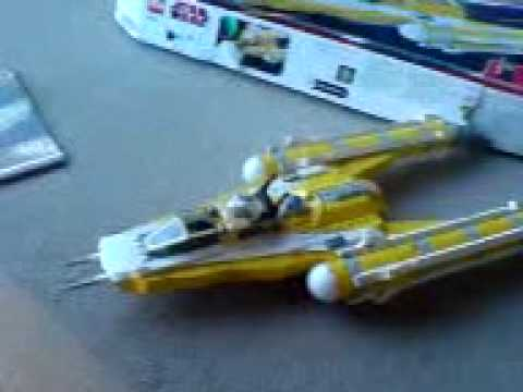 Lego Star Wars Reviews Episode 6: 8037 Anakins Y wing Starfighter