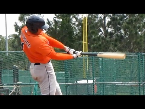 George Springer home run - Minor League Spring Training 2013