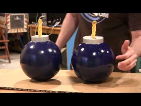 How to make Link's Bomb out of a Bowling Ball - ZELDA