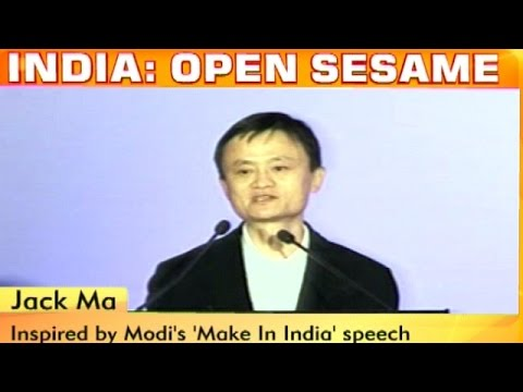 Jack Ma Of Alibaba Inspired By Modi, Looks At Do Business With India