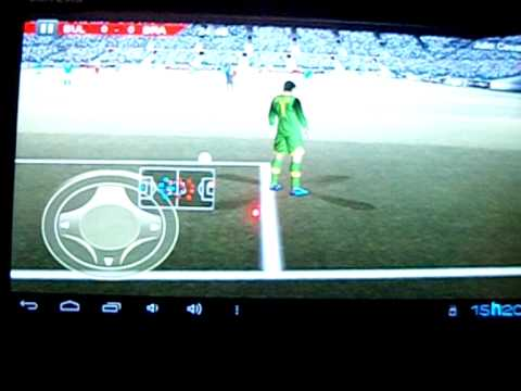 Real Football 2012 HD no tablet Genesis gt 7200