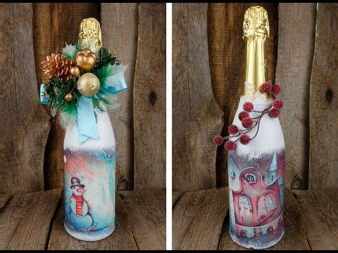 Подарки своими руками украсить бутылку 505