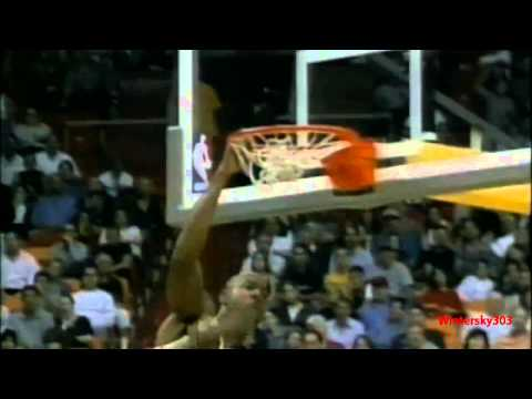 "Mitch Richmond, Šarūnas Mar�iulionis , Guy Rodgers, Nathaniel ""Sweetwater"" Clifton, Alonzo Mourning. Song: Immediate Music - Destiny of the Chosen."