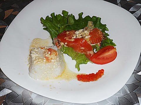 Готовим рыбу кижуч. Кижуч в сливках, под сыром и помидорами. Солим кижуч.