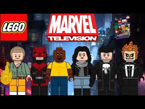 Lego Marvel TV Shows moc Minifigure Series!!! (Defenders, The Gifted & more)