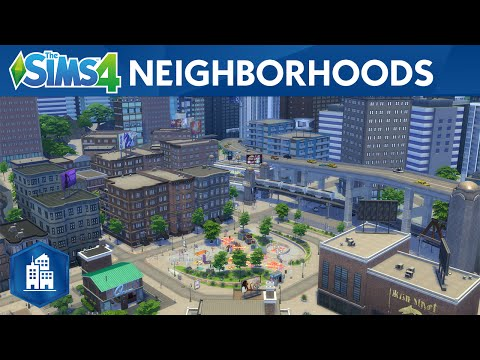 The Sims 4 City Living: Official Neighborhoods Trailer
