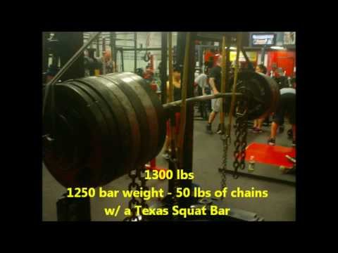 Henry Thomason -  XPC Powerlifting  Squat Training 02/10/13 @ BAG - 3 weeks out Image 1