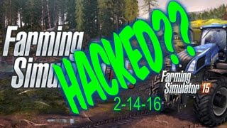 Farming Simulator 15 DLC problem | farming simulator 15 Hacked?