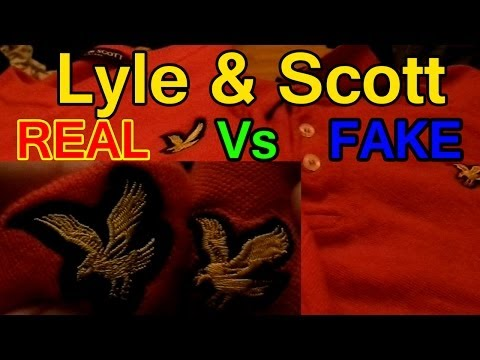 Lyle & Scott | Real vs Fake