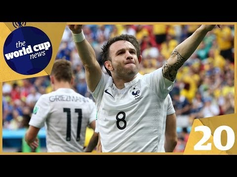 Pogba & Valbuena star for France vs Nigeria plus Schürrle rescues Germany vs Algeria   Day 20
