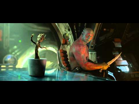 Dancing Baby Groot in Guardians of the Galaxy from Marvel / Disney