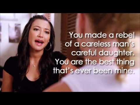 Glee - Mine (Lyrics)