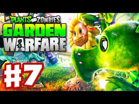 Plants vs. Zombies: Garden Warfare - Gameplay Walkthrough Part 7 - Gardens & Graveyards (Xbox One)