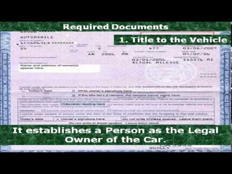 How To Get New Title For Car In Va