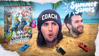 Coach La JIJ entraîne Skyyart à muscler son jeu sur Smash - Summer Games #2