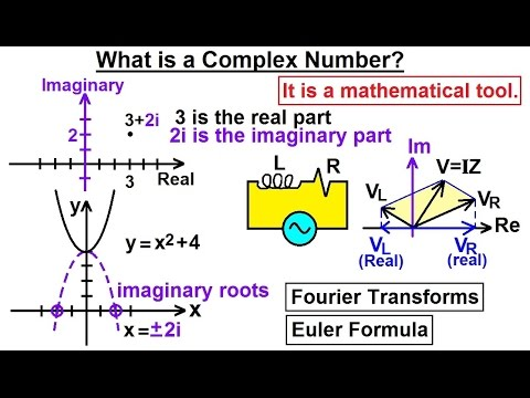 Calculus 2: Complex Numbers & Functions (1 of 28) What is a Complex Number?