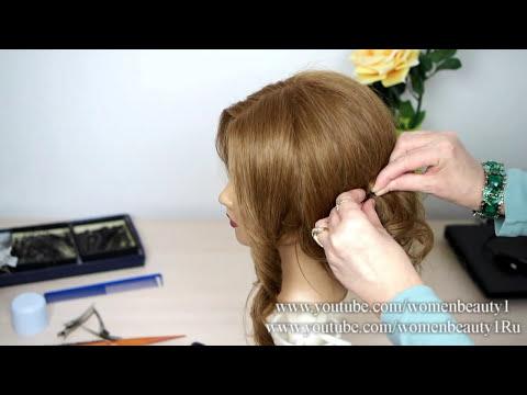 Easy romantic hairstyles for long medium hair. Updo hairstyles