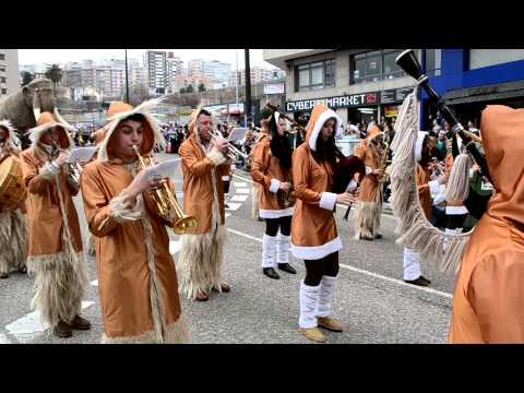 Desfile De Las Comparsas En Vigo Entroido 2014 - 3 De 27