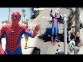 Spider-Man In Real Life Public Stunt