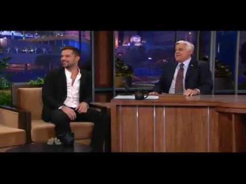 Ricky Martin Interview On Jay Leno Show 2011