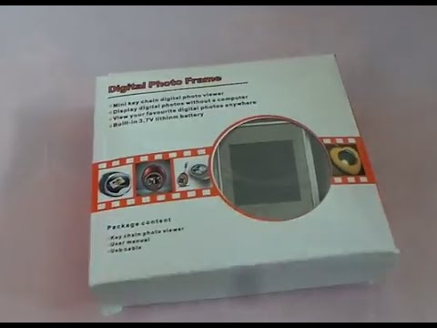 [Unboxing] Digital Photo Frame 1.5' TFT Screen (Malaysia)