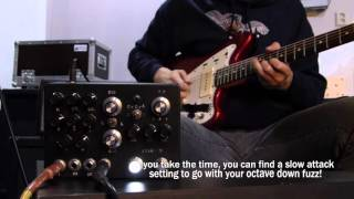 INDUSTRIALECTRIC 4046-M guitar and bass demo