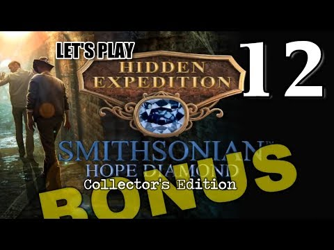 Hidden Expedition 6: Smithsonian Hope Diamond CE [12] w/YourGibs - BONUS CHAPTER 1/3