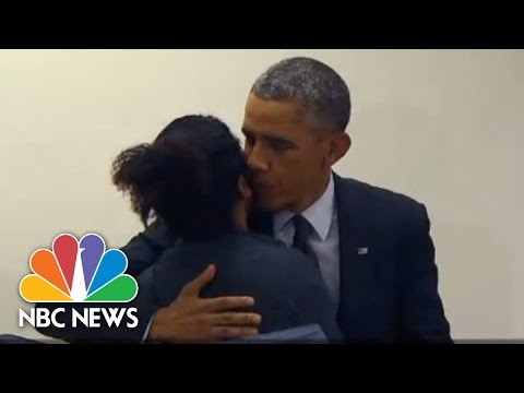Man To Obama: 'don't Touch My Girlfriend' | Nbc News video