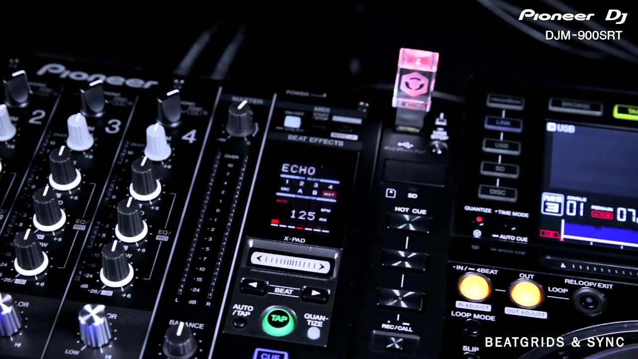 djm 900srt pioneer dj table de mixage 4 voies pour serato dj youtube. Black Bedroom Furniture Sets. Home Design Ideas