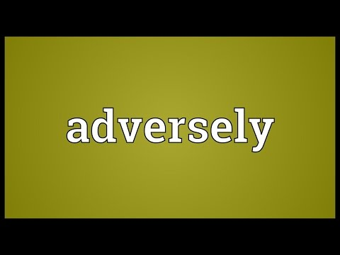 Header of adversely