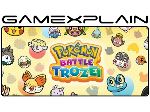 Pokémon Battle Trozei - Game & Watch (Video Preview)