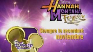 Hannah Montana Forever Siempre te recordare Disney Channel Latino.