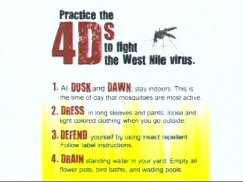 City of Dallas - West Nile Prevention for Residents