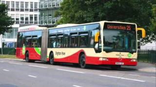 the life of a brighton and hove bendy bus fleet number 103