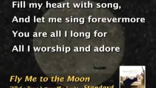 Frank Sinatra Fly Me To The Moon Karaoke Female